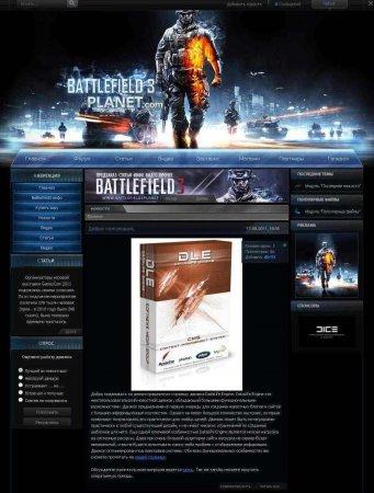 Шаблон Battlefield3 для DLE 9.4