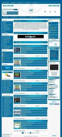 Шаблон Ucoz - Info для DLE 9.4