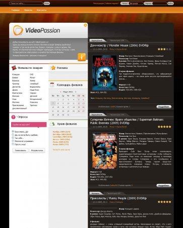 Шаблон VideoPassion для DLE 9.4