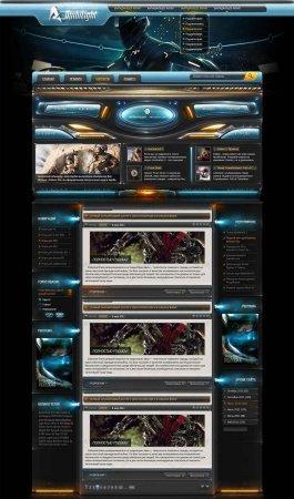 Игровой шаблон Ambilight - DLE 9.5