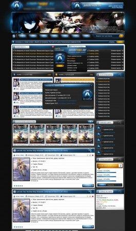 Аниме-шаблон AnimeWay для DLE 9.5