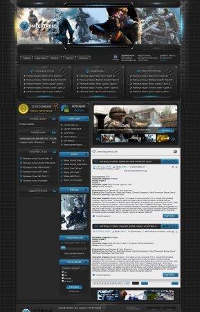 Игровой шаблон Megatron для DLE 9.5