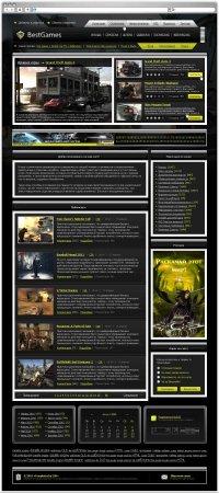 Игровой шаблон BestGames - оригинал (DLE 9.6)